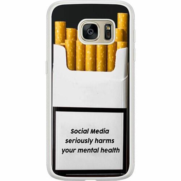 Samsung Galaxy S7 Soft Case (Frostad) Social Media Harms...