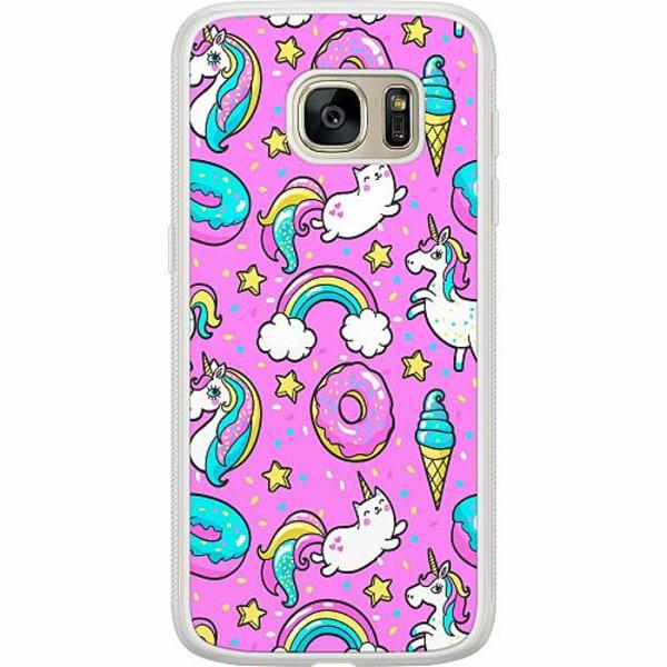 Samsung Galaxy S7 Soft Case (Frostad) Unicorns