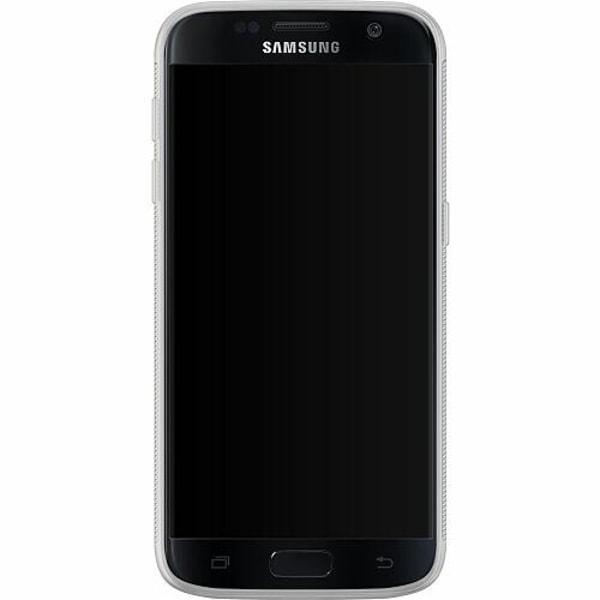 Samsung Galaxy S7 Soft Case (Frostad) Eyes In The Dark Black