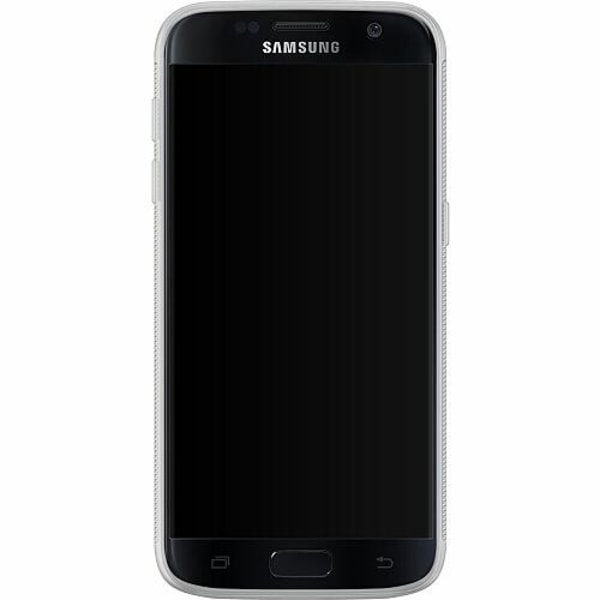 Samsung Galaxy S7 Soft Case (Frostad) Flower on LCD