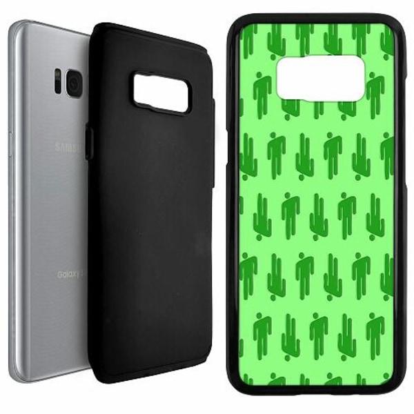 Samsung Galaxy S8 Duo Case Svart Billie Eilish 2021