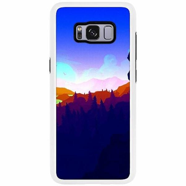 Samsung Galaxy S8 Duo Case Vit Pattern