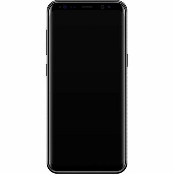 Samsung Galaxy S8 Soft Case (Svart) Löv