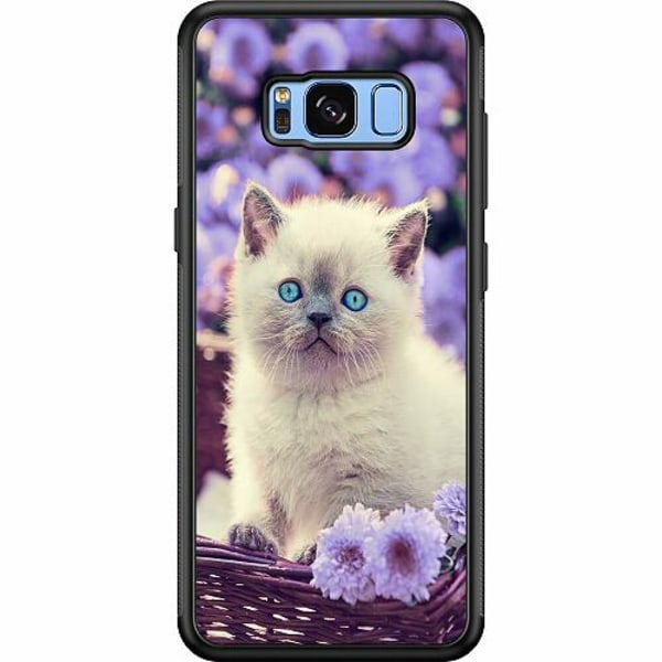 Samsung Galaxy S8 Soft Case (Svart) Katt
