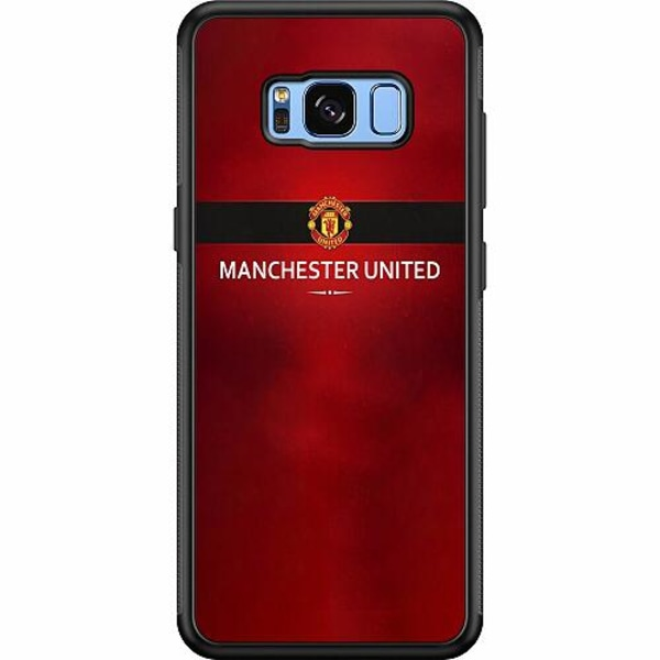 Samsung Galaxy S8 Soft Case (Svart) Manchester