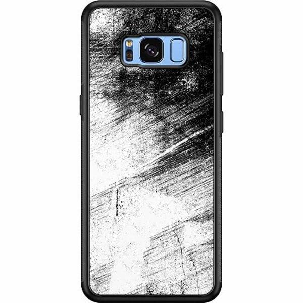 Samsung Galaxy S8 Soft Case (Svart) Mönster