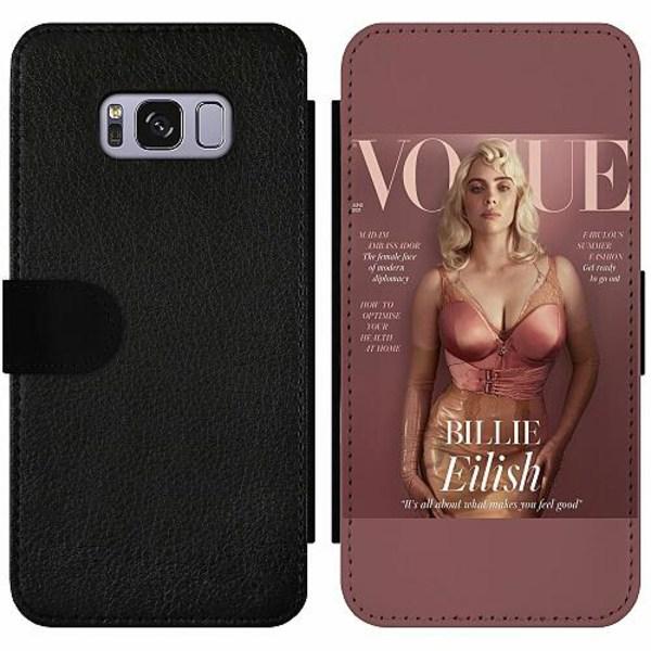Samsung Galaxy S8 Wallet Slim Case Billie Eilish 2021