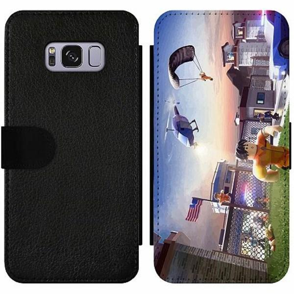 Samsung Galaxy S8 Wallet Slim Case Roblox