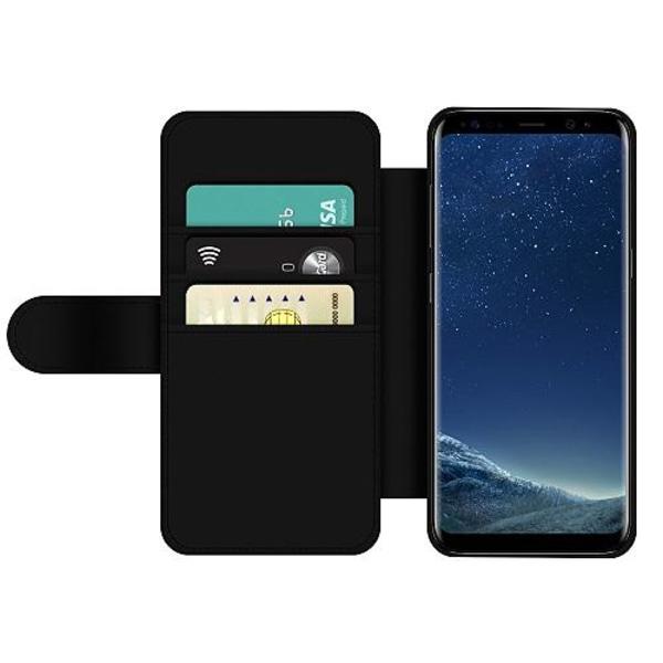 Samsung Galaxy S8 Wallet Slim Case MineCraft