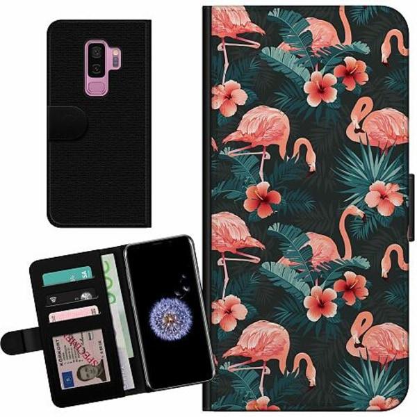 Samsung Galaxy S9+ Billigt Fodral Flamingo