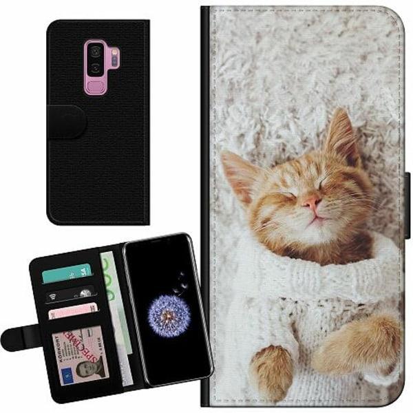 Samsung Galaxy S9+ Billigt Fodral Katt