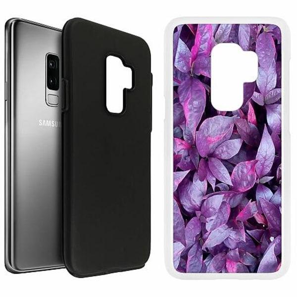Samsung Galaxy S9+ Duo Case Vit Purple Shrubs