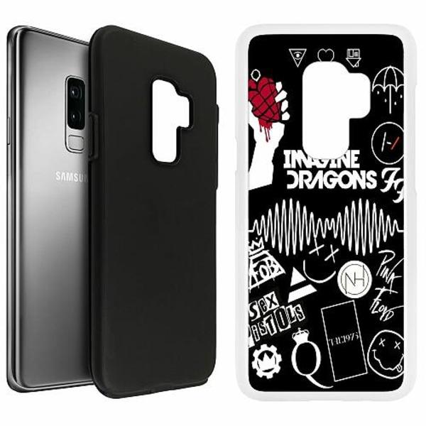 Samsung Galaxy S9+ Duo Case Vit Rock
