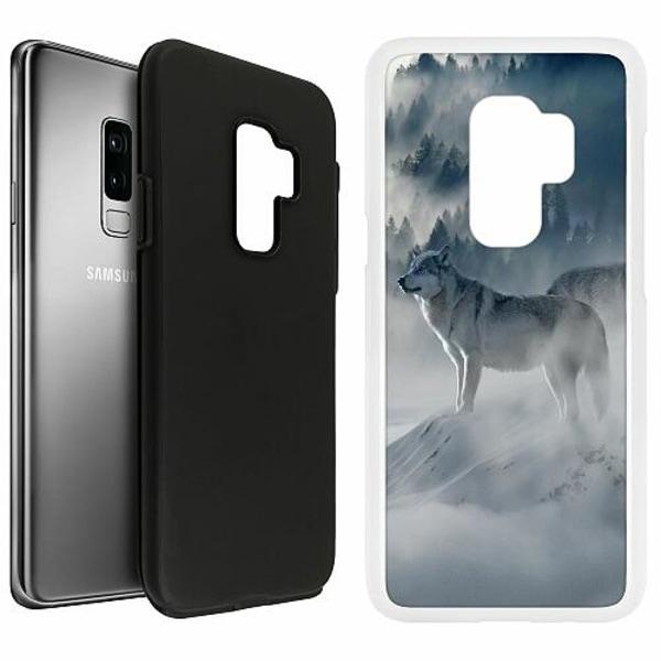 Samsung Galaxy S9+ Duo Case Vit Wolf / Varg