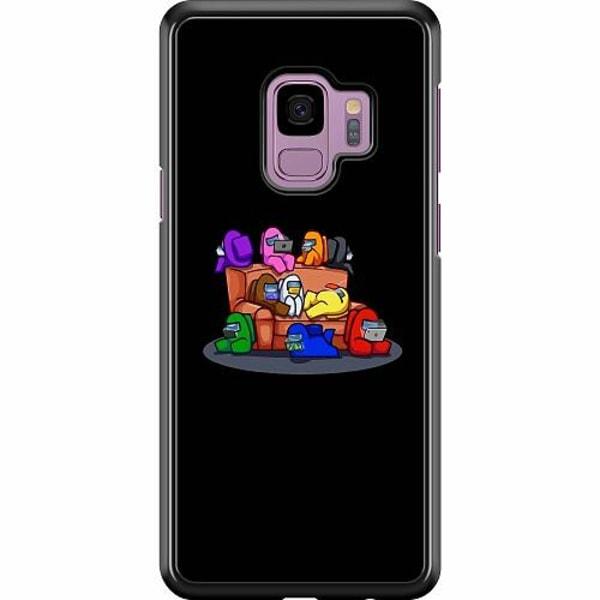 Samsung Galaxy S9 Hard Case (Svart) Among Us