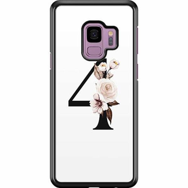 Samsung Galaxy S9 Hard Case (Svart) Bokstäver