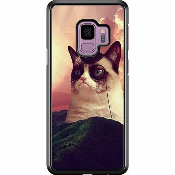 Samsung Galaxy S9 Hard Case (Svart) Cat Af Grund