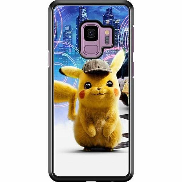 Samsung Galaxy S9 Hard Case (Svart) Detective Pikachu - Pikachu