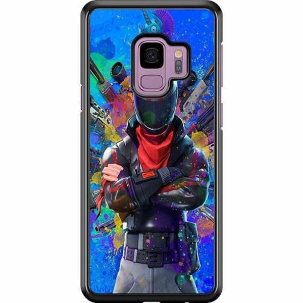 Samsung Galaxy S9 Hard Case (Svart) Fortnite