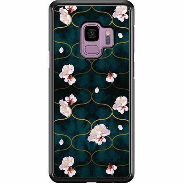 Samsung Galaxy S9 Hard Case (Svart) Japanese Garden