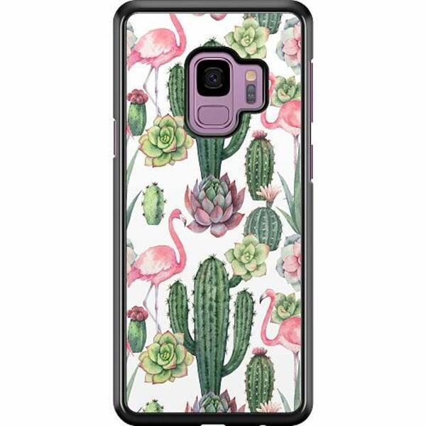 Samsung Galaxy S9 Hard Case (Svart) Kaktus