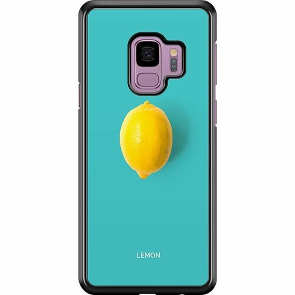 Samsung Galaxy S9 Hard Case (Svart) Lemon