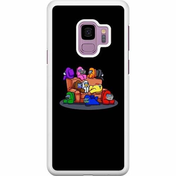 Samsung Galaxy S9 Hard Case (Vit) Among Us