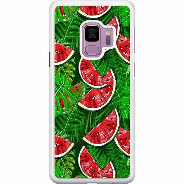 Samsung Galaxy S9 Hard Case (Vit) Bushy Melons