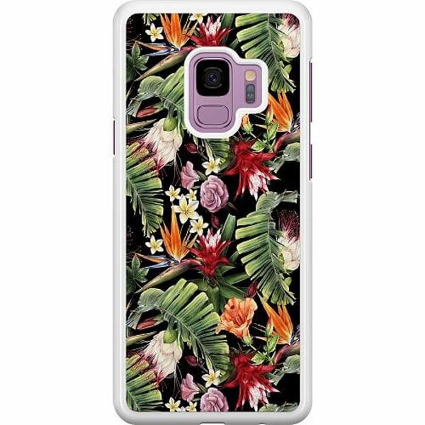 Samsung Galaxy S9 Hard Case (Vit) Scarlet