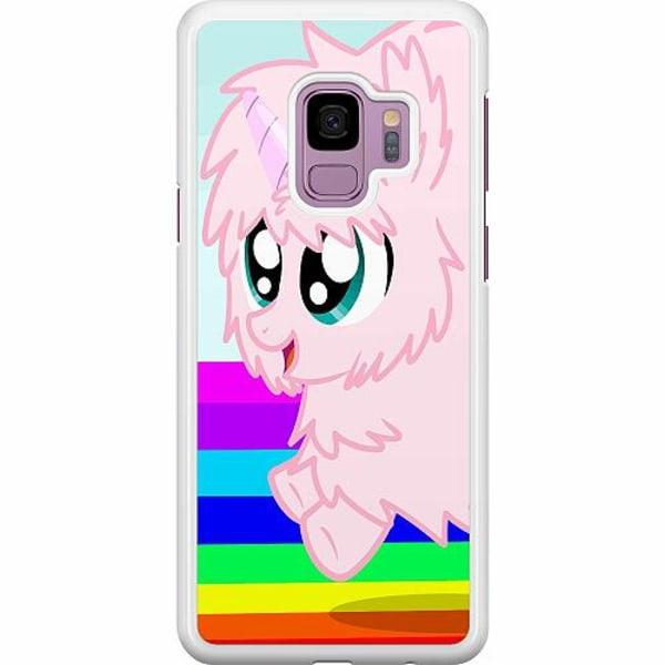 Samsung Galaxy S9 Hard Case (Vit) UNICORN