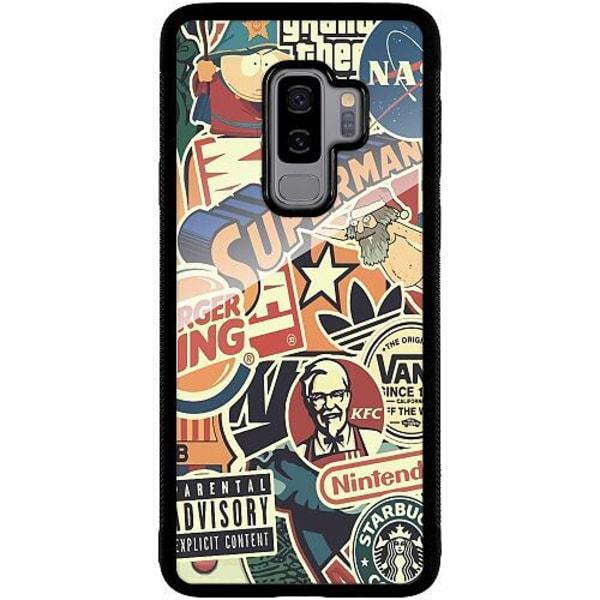 Samsung Galaxy S9+ Mobilskal med Glas Mixed