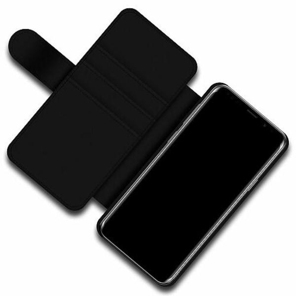 Samsung Galaxy S9+ Skalväska Flower on LCD