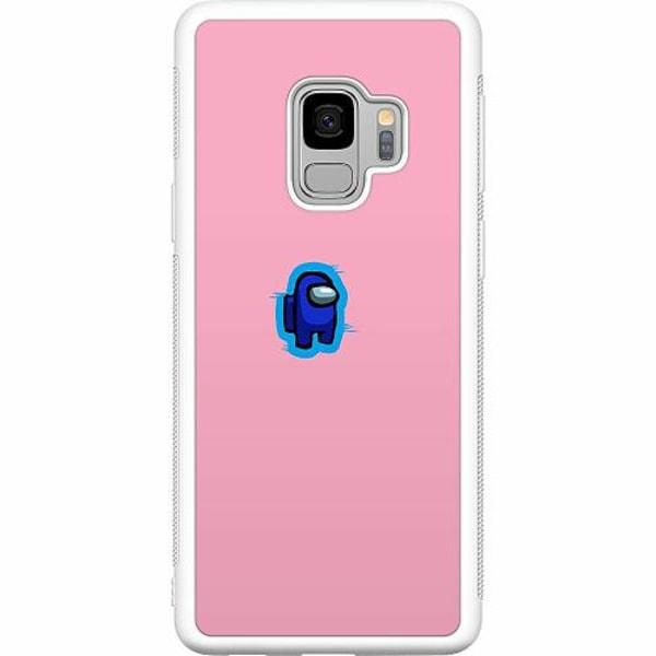 Samsung Galaxy S9 Soft Case (Vit) Among Us