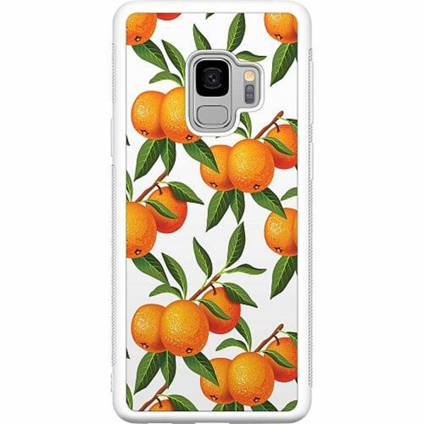 Samsung Galaxy S9 Soft Case (Vit) Apelsin