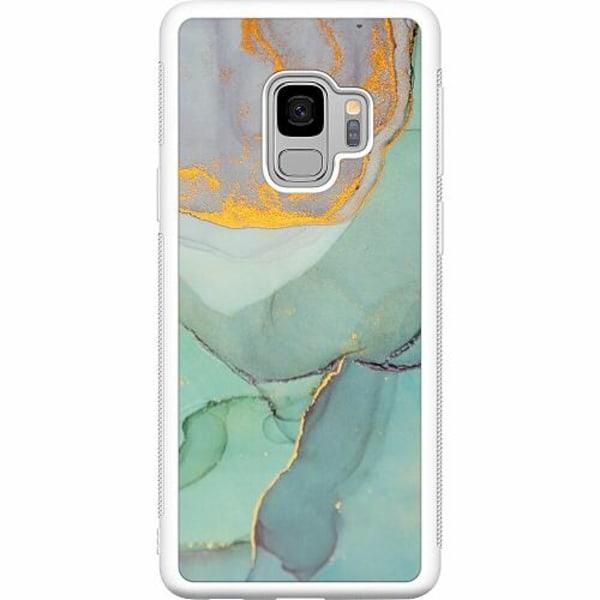 Samsung Galaxy S9 Soft Case (Vit) Coastline