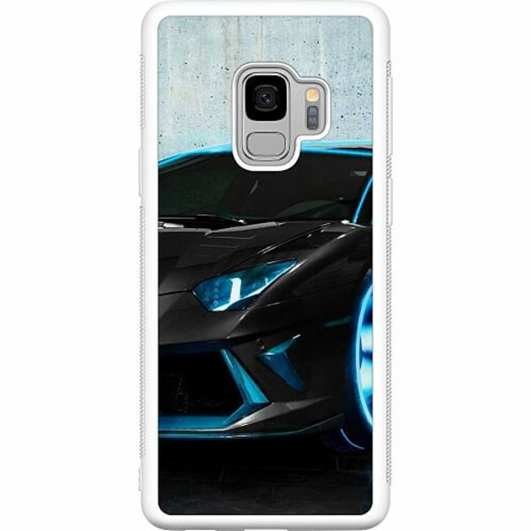 Samsung Galaxy S9 Soft Case (Vit) Dude, Where's...