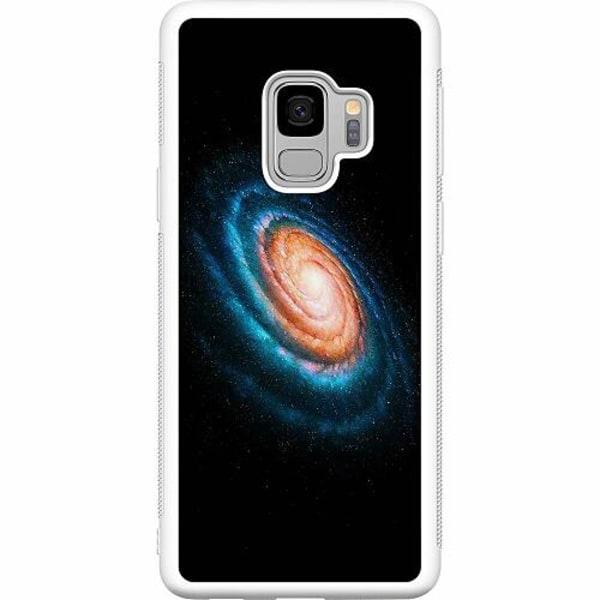 Samsung Galaxy S9 Soft Case (Vit) Infinite Galaxy