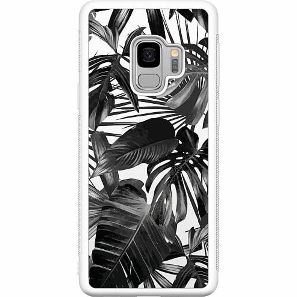 Samsung Galaxy S9 Soft Case (Vit) Löv