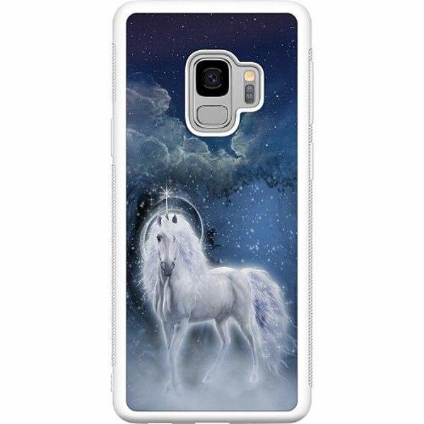 Samsung Galaxy S9 Soft Case (Vit) Magical Horse