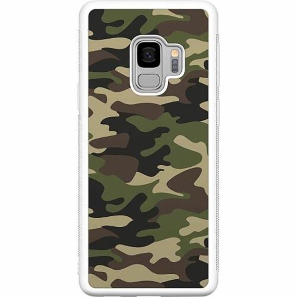 Samsung Galaxy S9 Soft Case (Vit) Militär