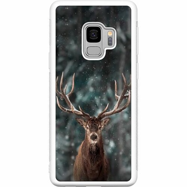Samsung Galaxy S9 Soft Case (Vit) Oh Deer