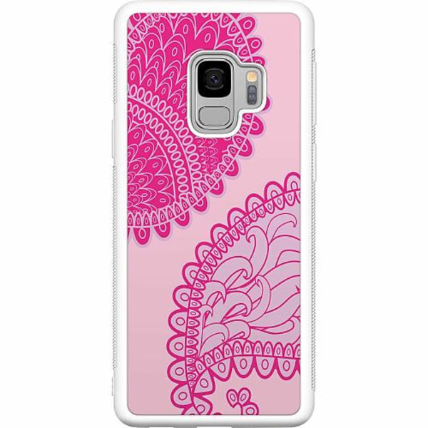 Samsung Galaxy S9 Soft Case (Vit) Pinkish Life