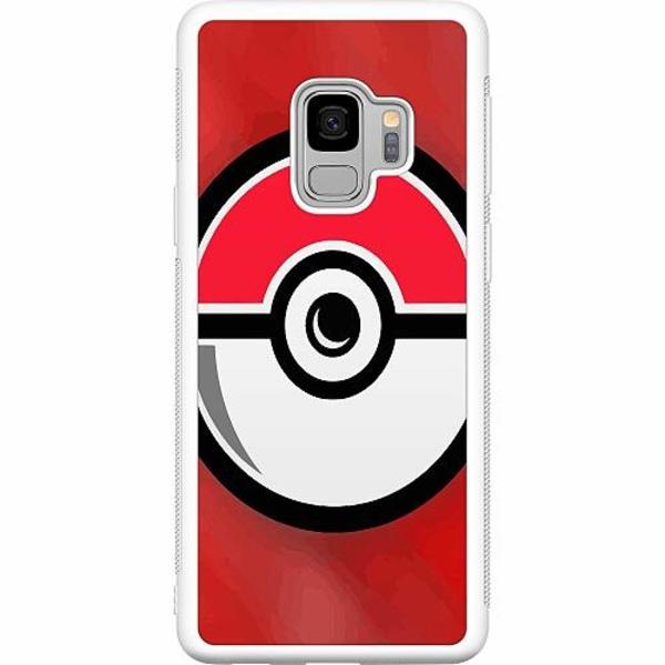 Samsung Galaxy S9 Soft Case (Vit) Pokemon