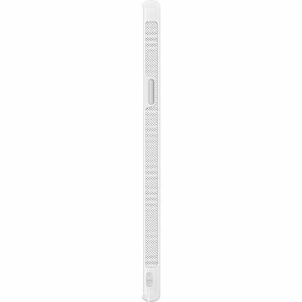 Samsung Galaxy S9 Soft Case (Vit) Bokstäver