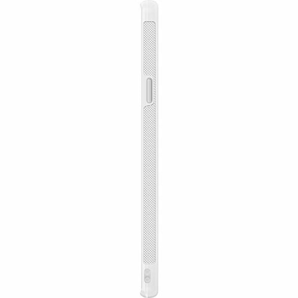 Samsung Galaxy S9 Soft Case (Vit) Marmor Diamant