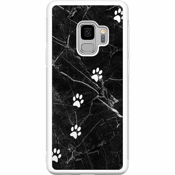 Samsung Galaxy S9 Soft Case (Vit) Tassar
