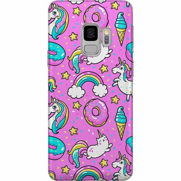 Samsung Galaxy S9 Thin Case Unicorn