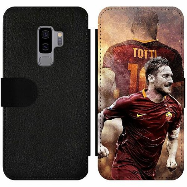 Samsung Galaxy S9+ Wallet Slim Case Francesco Totti