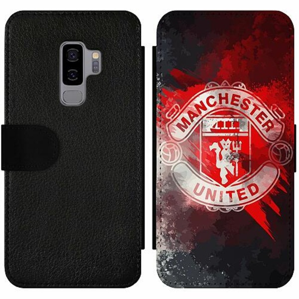 Samsung Galaxy S9+ Wallet Slim Case Manchester United FC
