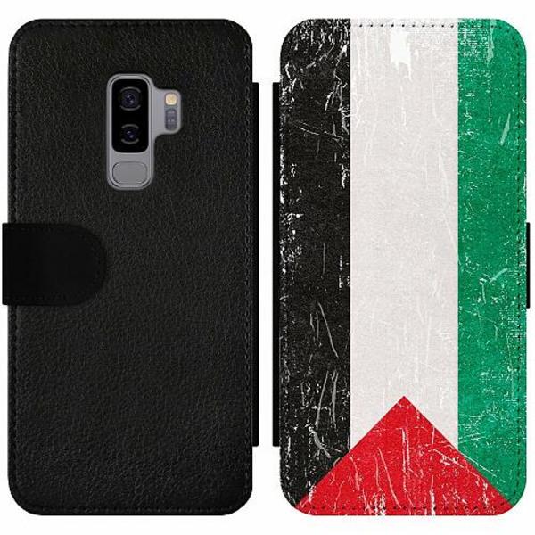 Samsung Galaxy S9+ Wallet Slim Case Palestina Flagga